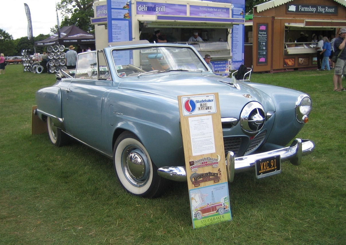 11. 1950 Champion owned by Richard Pratt