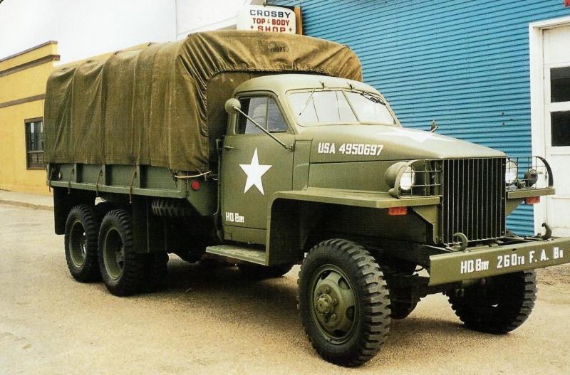 1942 6x6 Military Truck