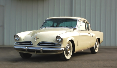 1953 Coupe cream