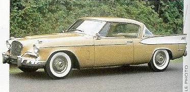 1957 Golden Hawk