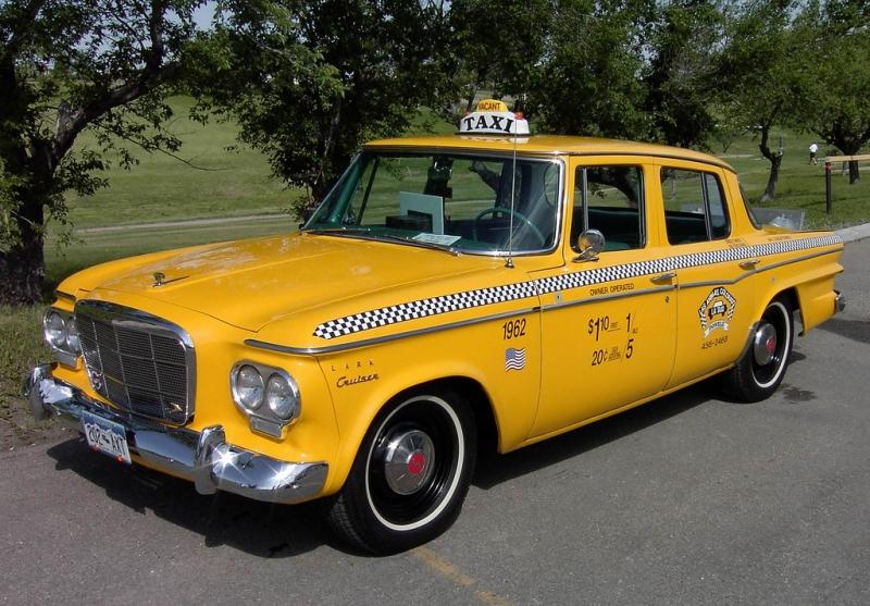 1962 Lark Taxi