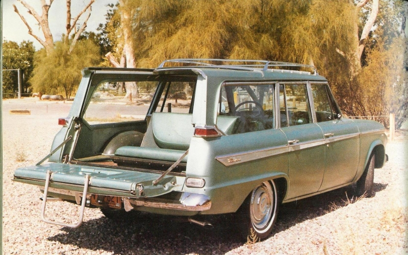 1962 Station Wagon Rear