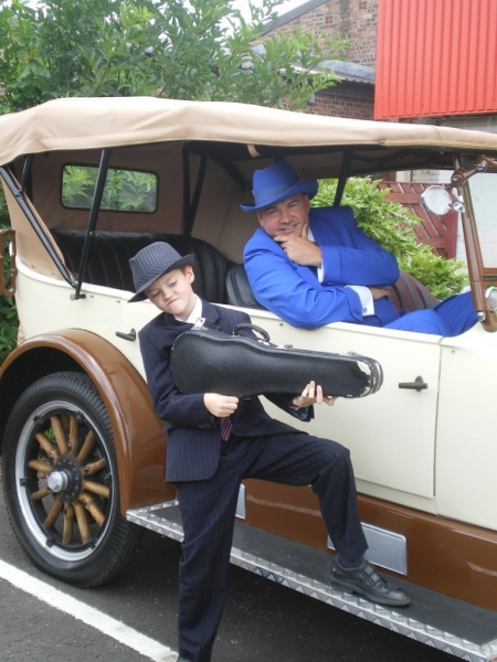 1923 Special Six Gangster and Son