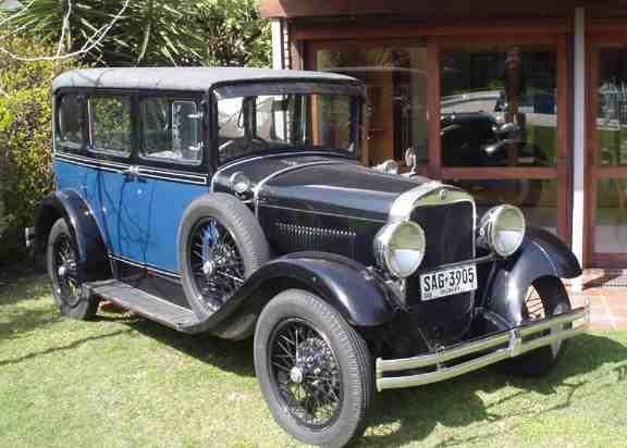 1929 Erskine Sedan Model 52W