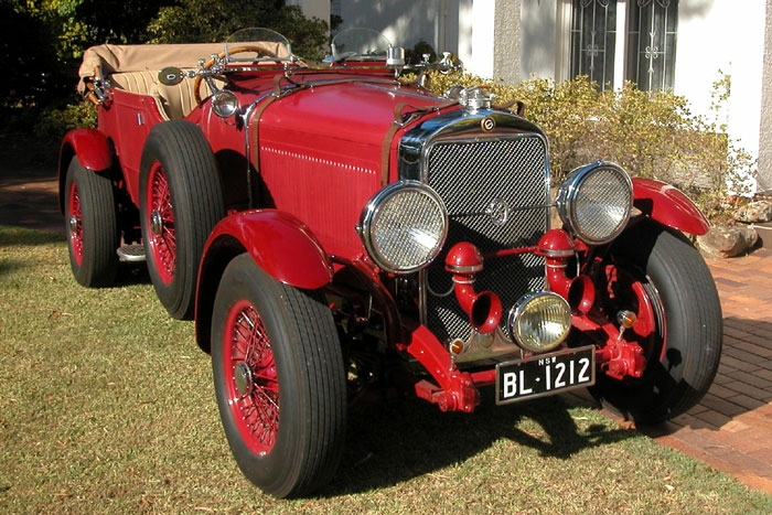 1929 Pres. Brooklands Double 12 Sports-Tourer