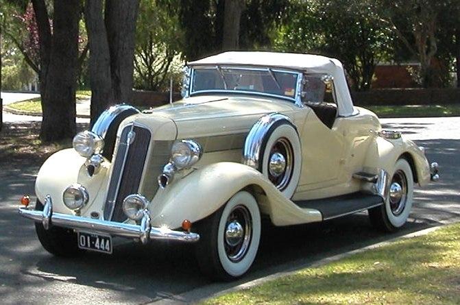 1935 Commander Roadster