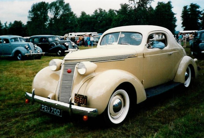 1937 Commander Coupe Colin Rogers