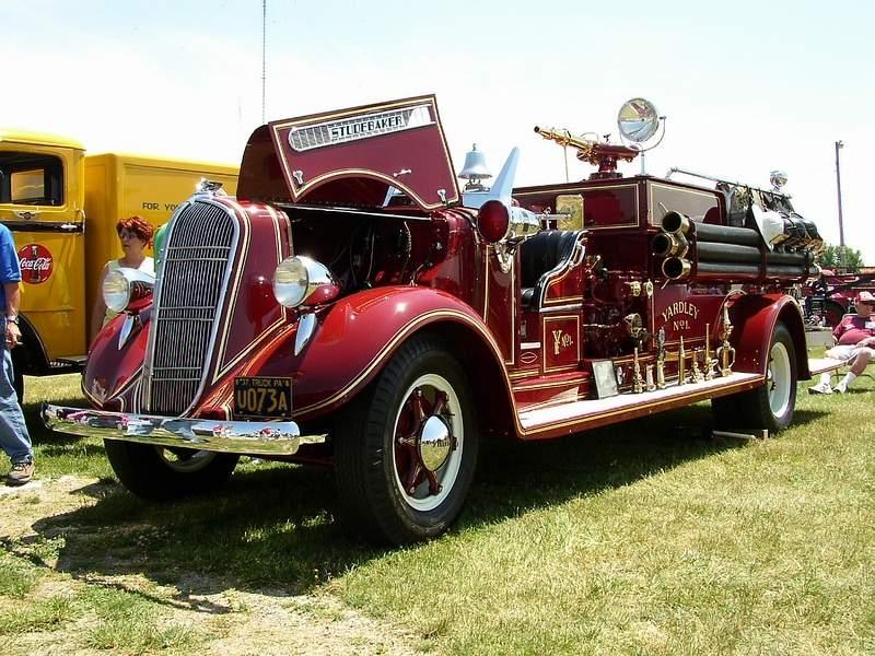 1937 Fire truck